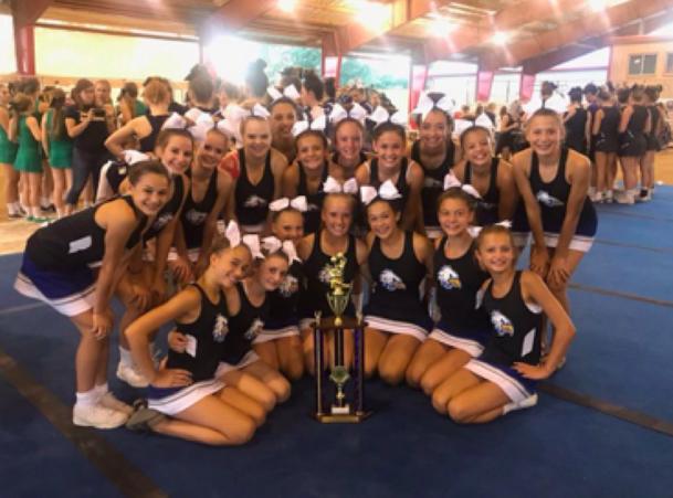 Hendricks County Cheerleading Contest