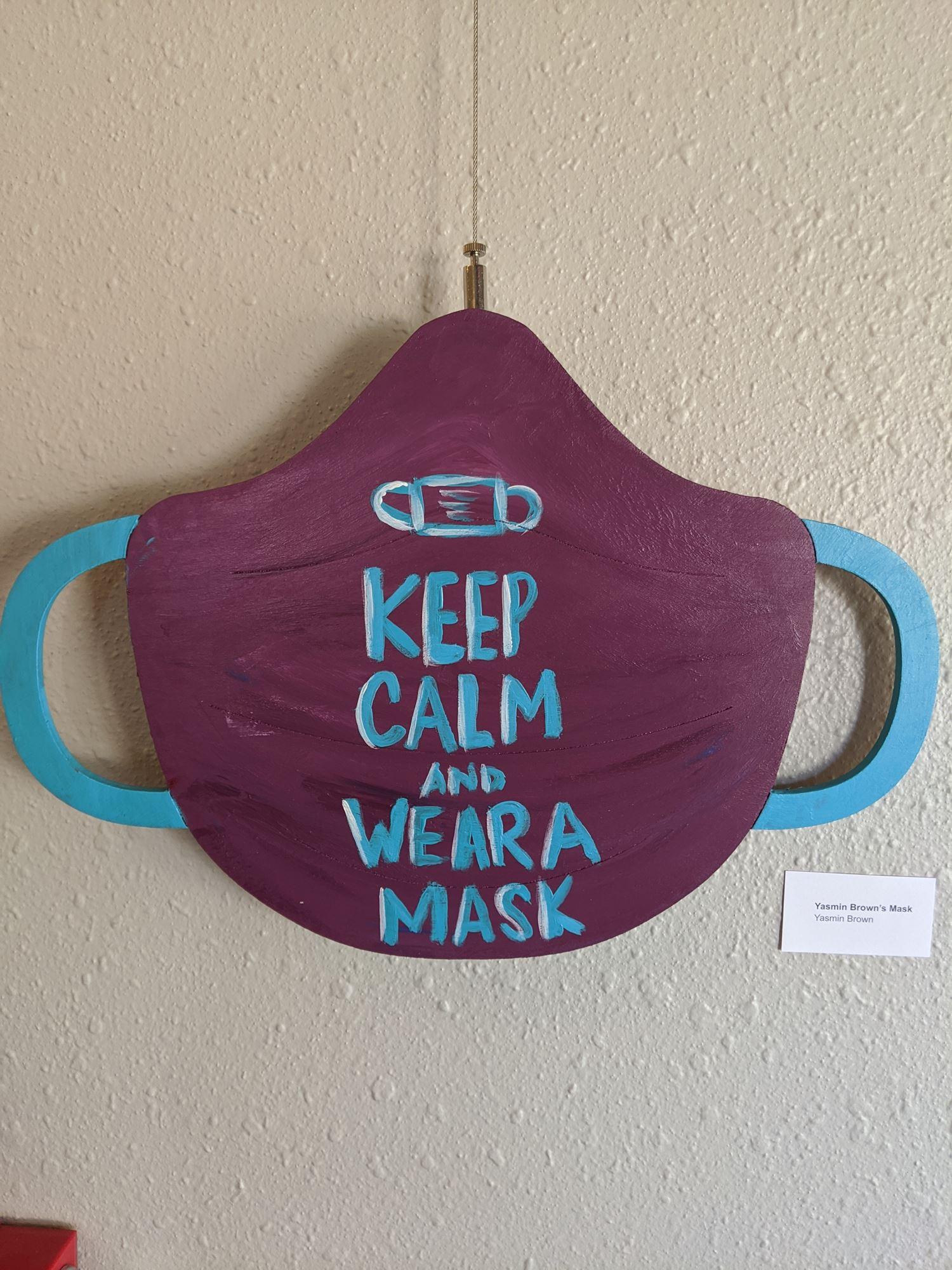 Yasmin Brown- Yasmin Brown's Mask
