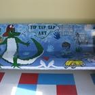 """""""Tip Tap Tap Art"""" Bench"""