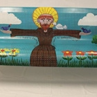 """St. Francis of the Garden"" Bench"