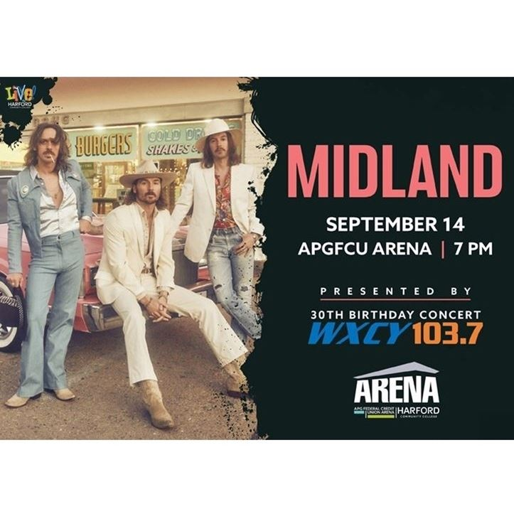 MIDLAND presented by WXCY & Harford Community College