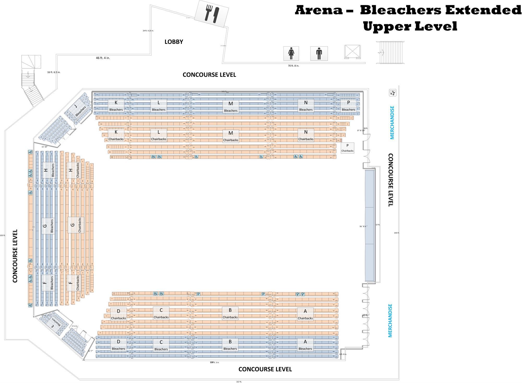 Seating Configurations - APG Federal Credit Union Arena
