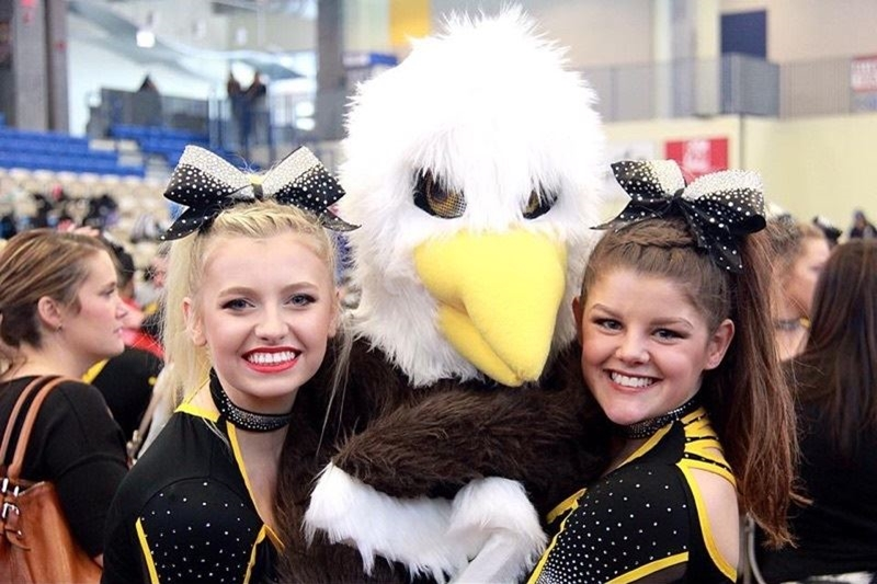 We love our little Eagle mascot