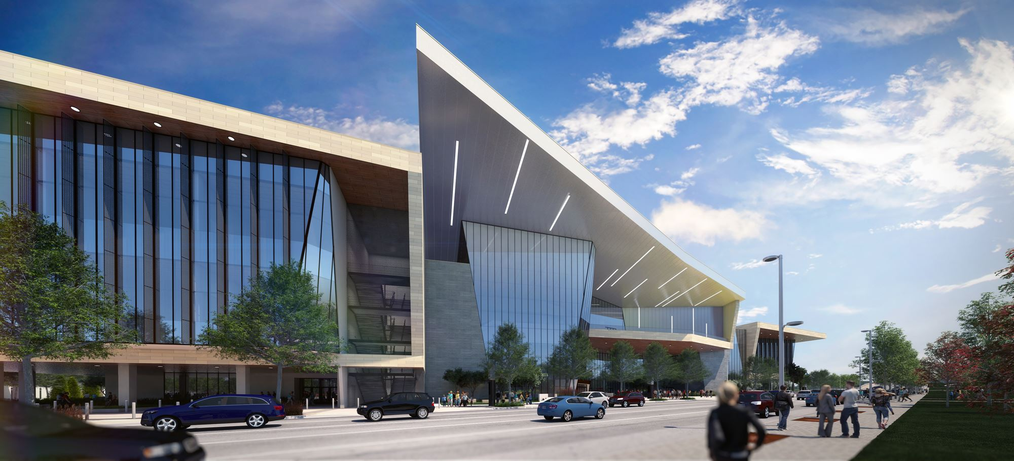 A preview of Oklahoma Citys new Convention Center shows