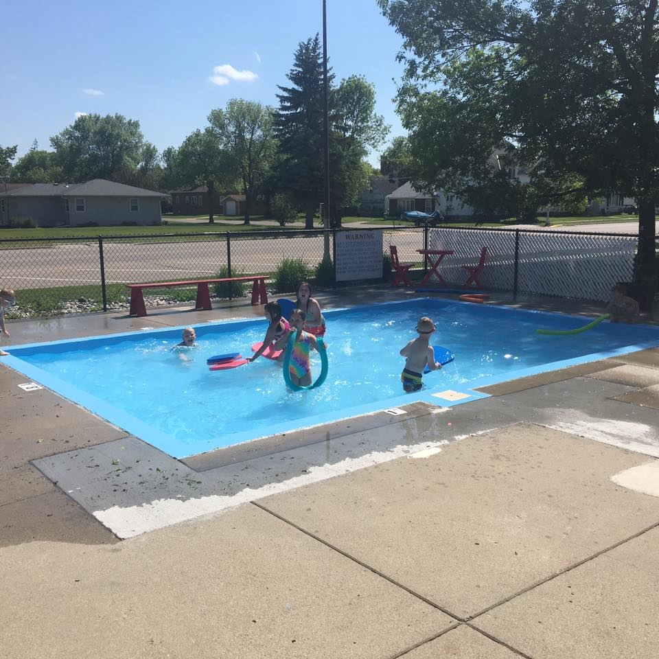 Outdoor Wading Pool