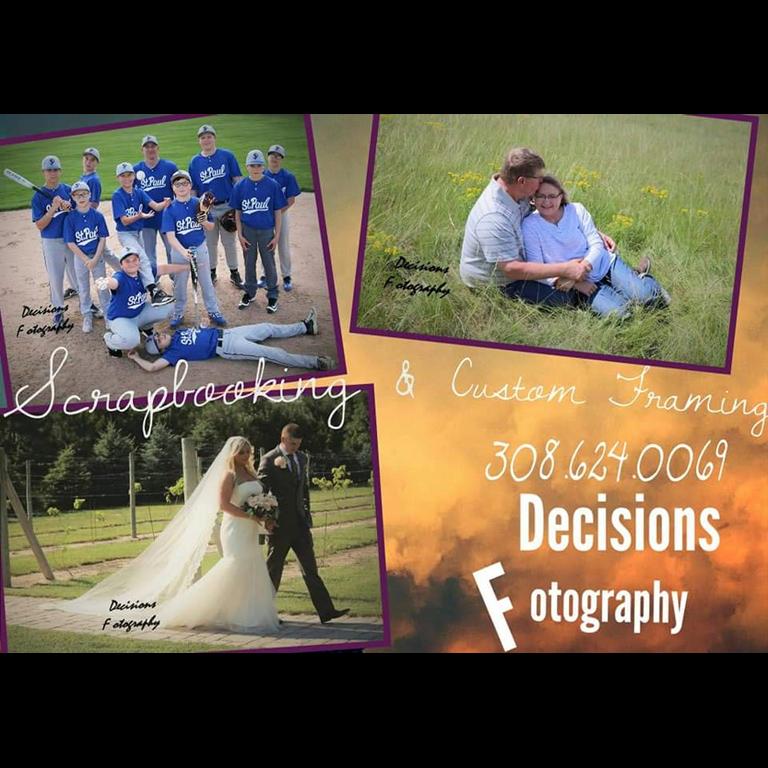 Decisions Fotography Scrapbooking & Custom Framework