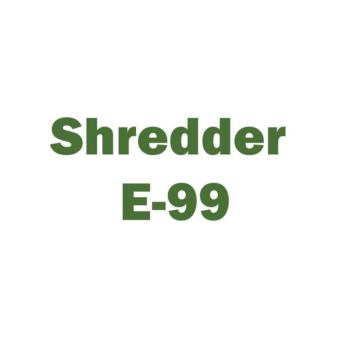 Shredder E-99