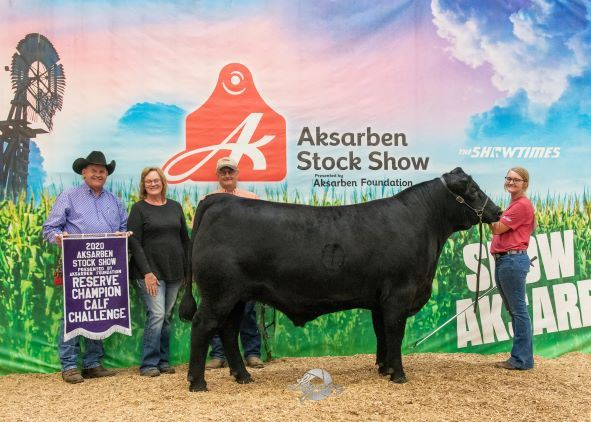 2020 Calf Challenge Reserve Champion