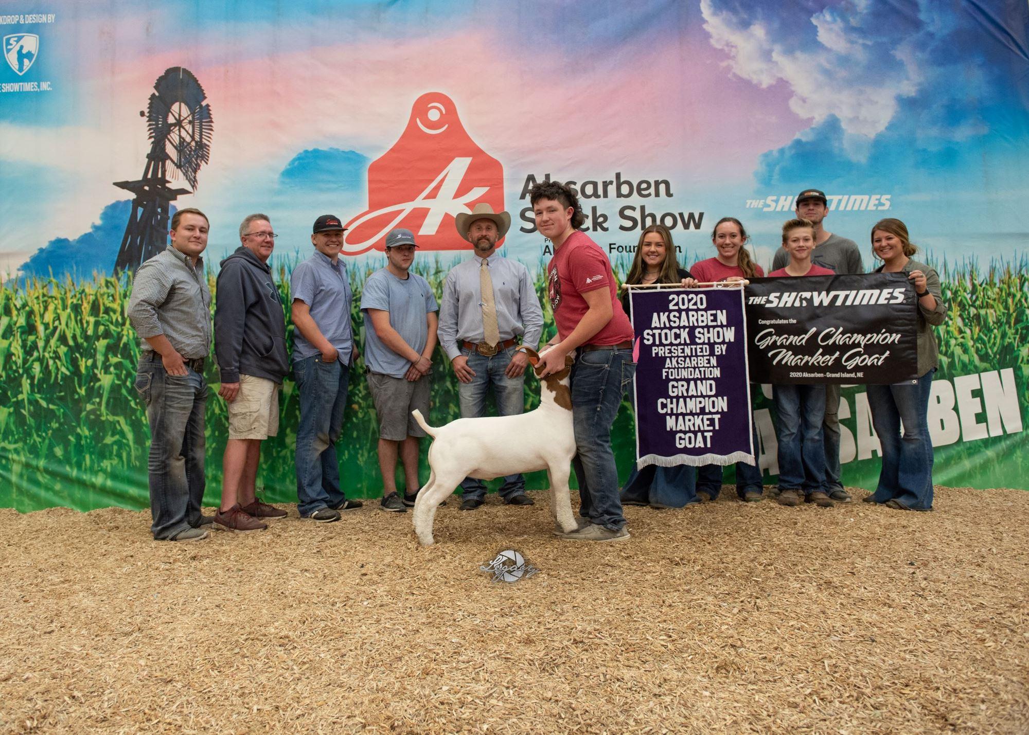 Champion Market Goat