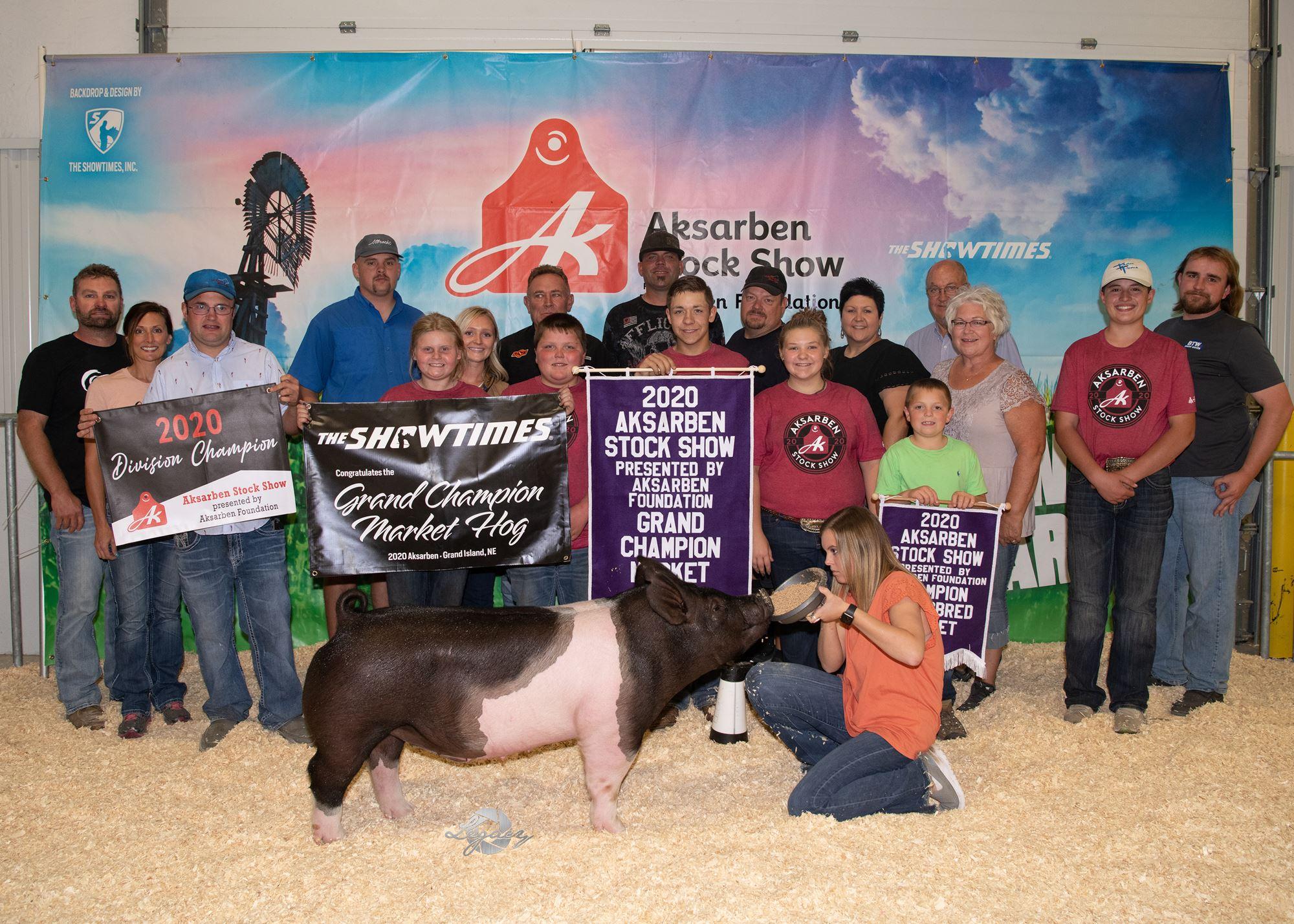 Champion Market Hog