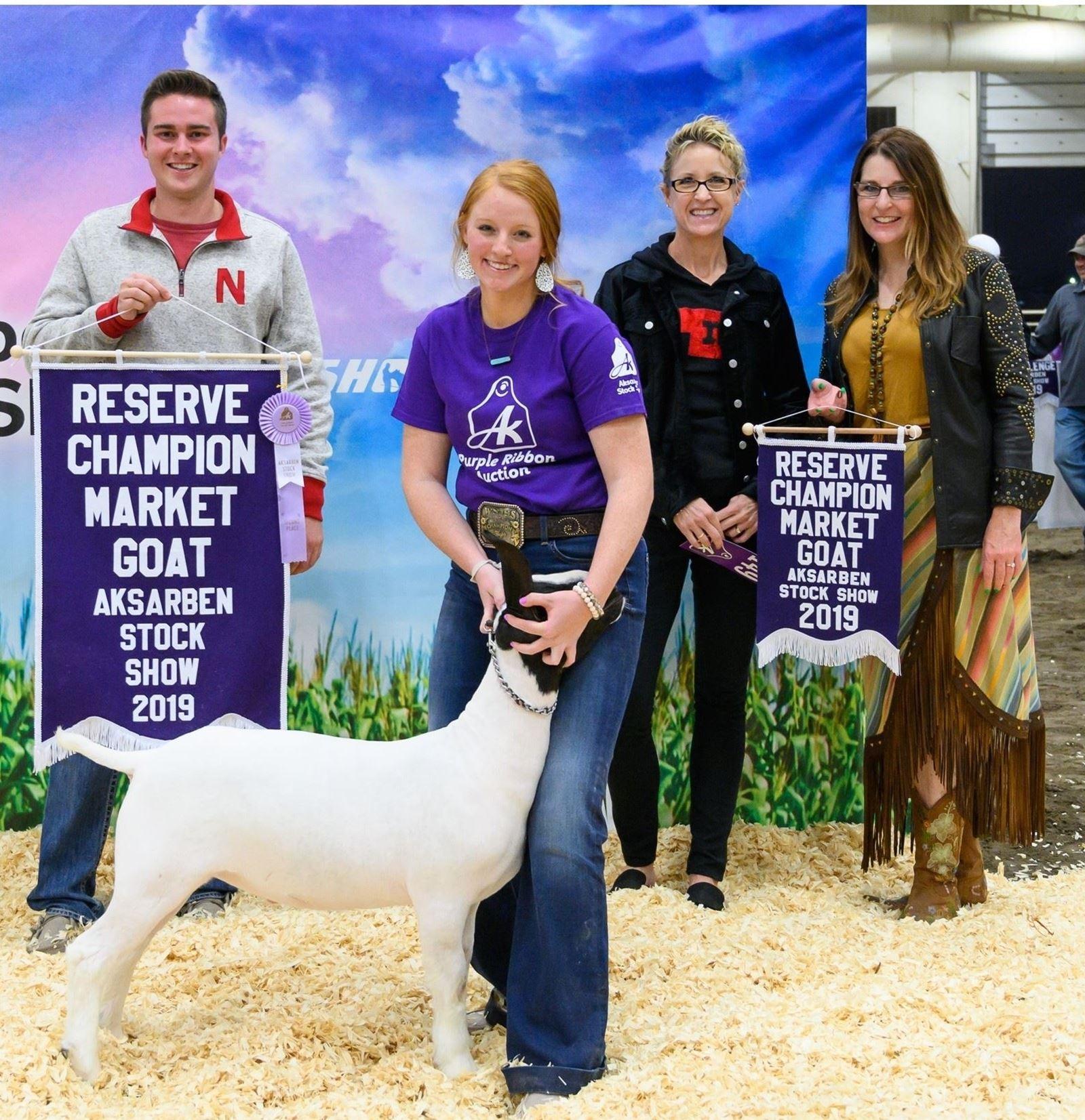 Reserve Champion Market Goat