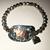 Beaded Cow Charm Bracelet