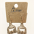 Cow Cutout Tag Earrings