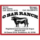 O Bar Ranch