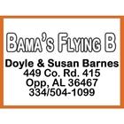 Bama's Flying B