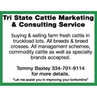 Tri State Cattle Marketing & Consulting Services