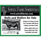 Sewell Farms Simmentals
