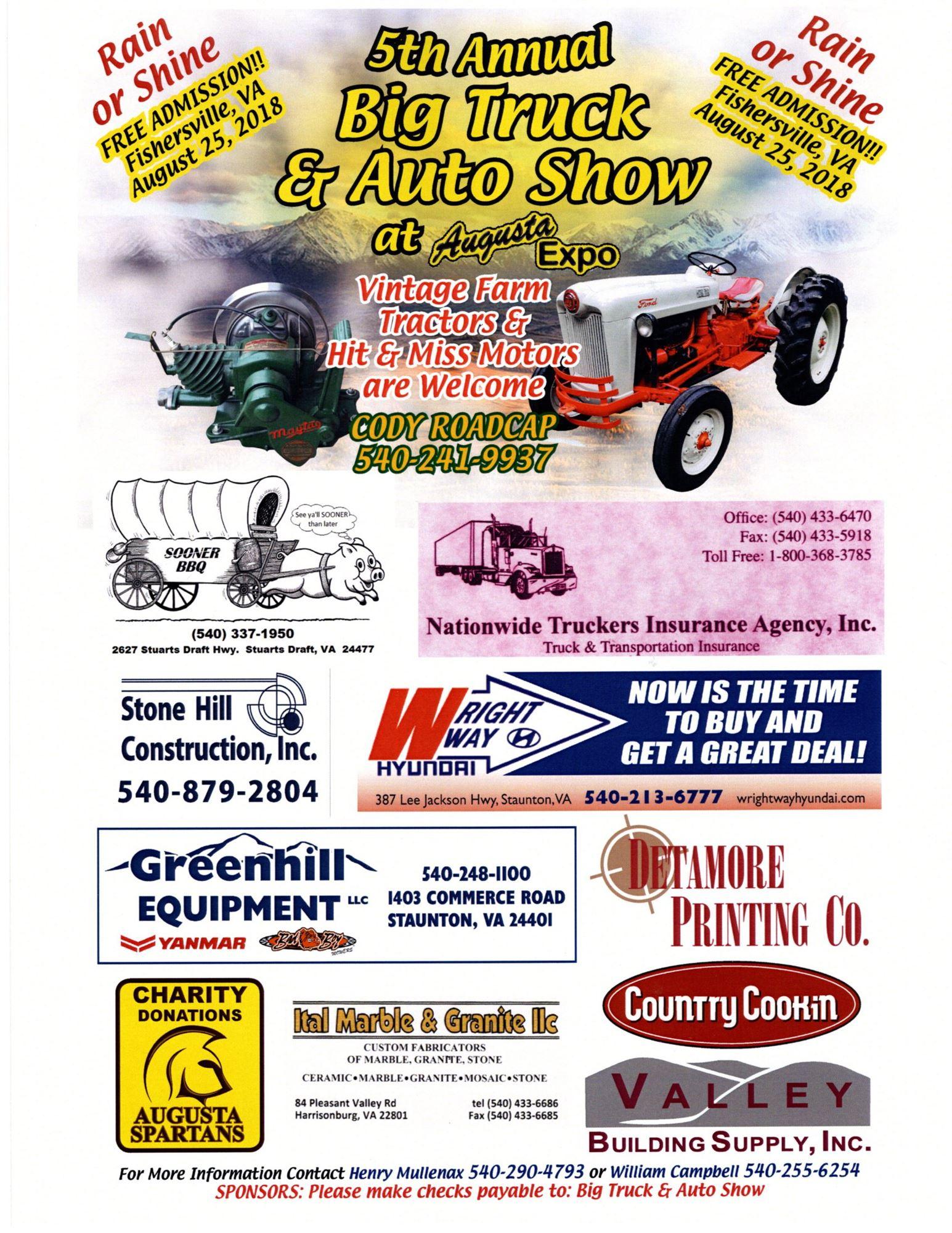 Big Truck Auto Show - Augusta car show