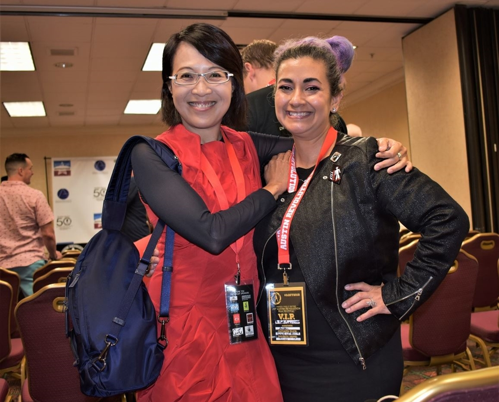 Screenwriter & Attendee at ARFF 2018 - Photo courtesy of Robin Smith