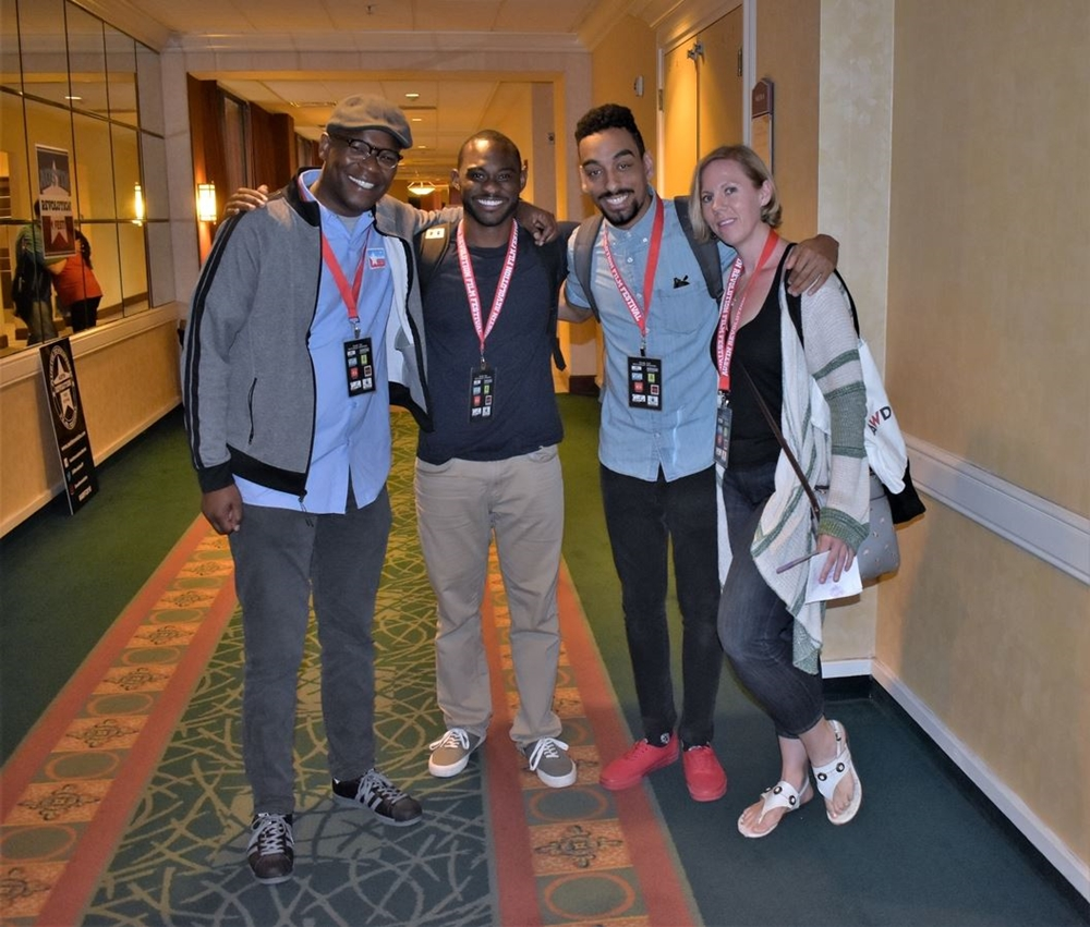 Filmmaker and Friends at ARFF 2018 - Photo courtesy of Robin Smith
