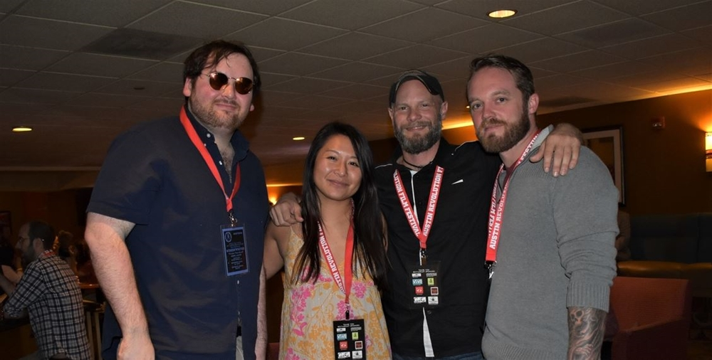 Filmmakers & Friends at ARFF 2018 - Photo courtesy of Robin Smith