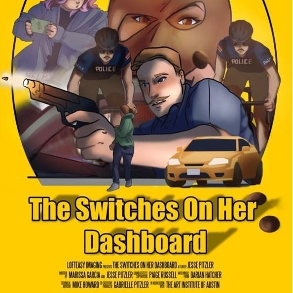 The Switches on Her Dashboard