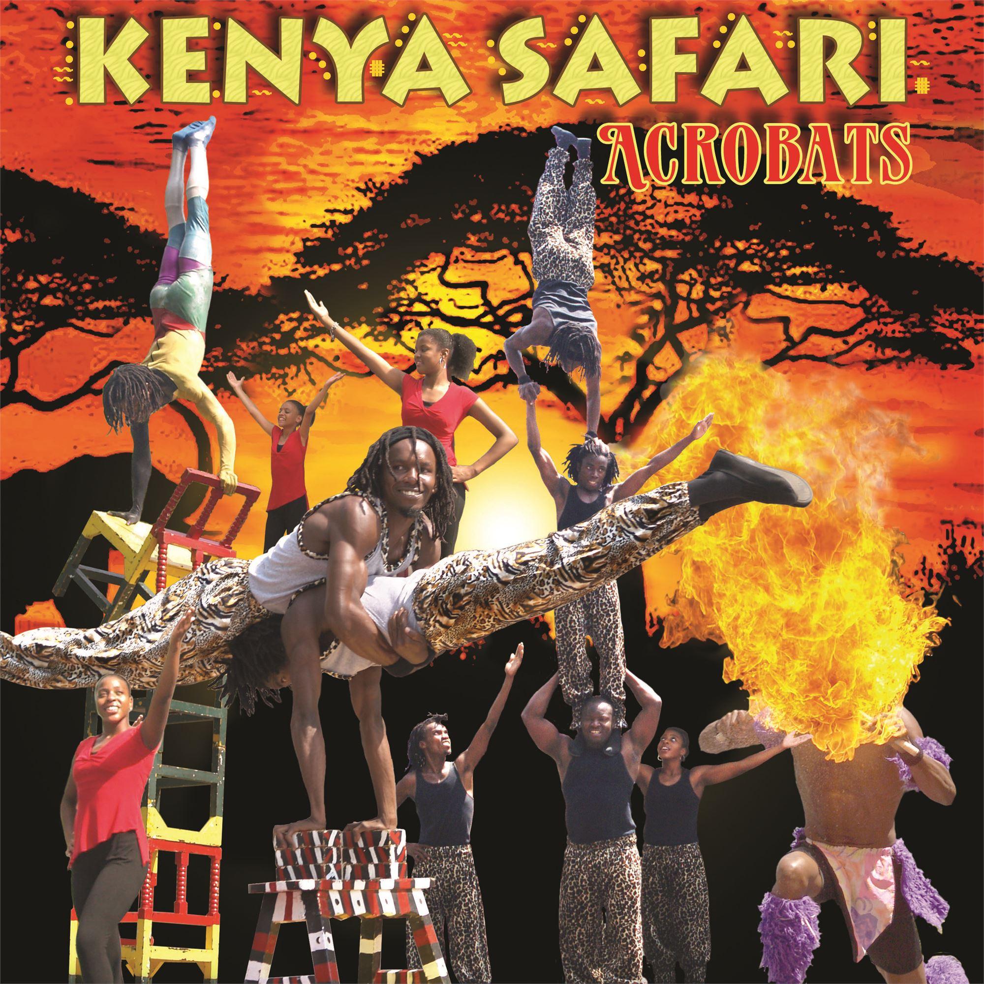 Kenya Safari Acrobats