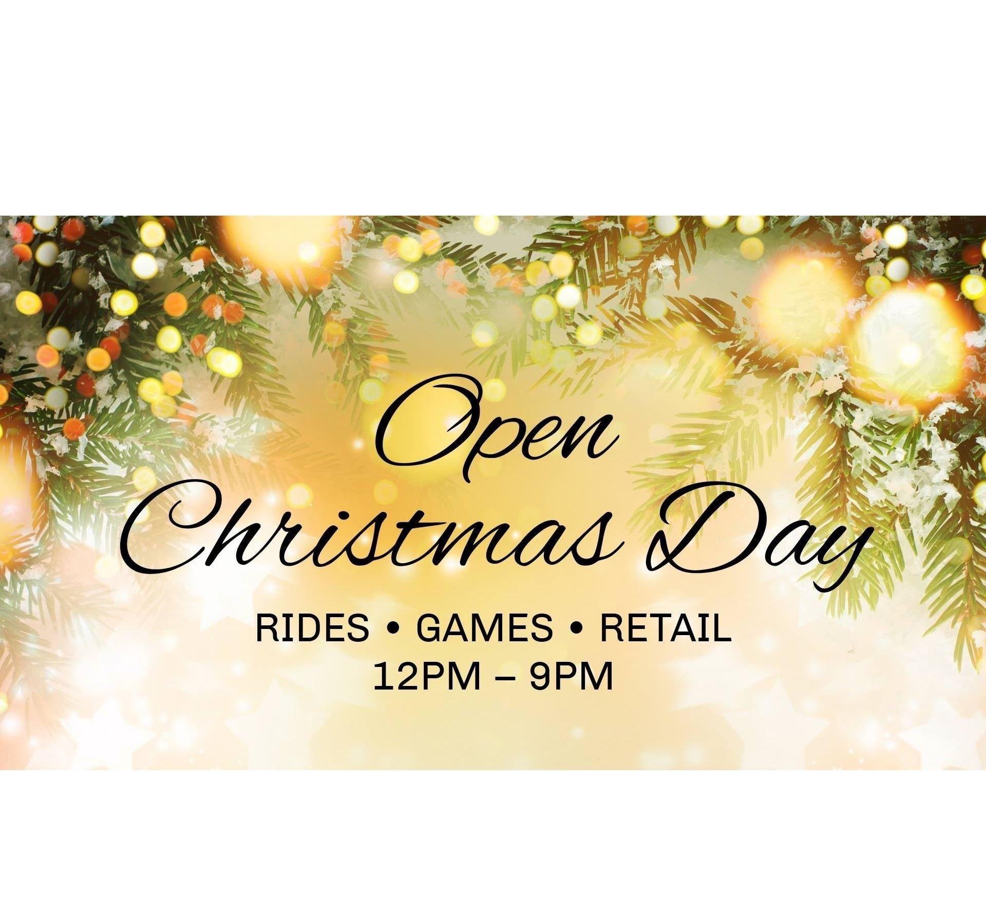 Kemah Boardwalk - OPEN Christmas Day