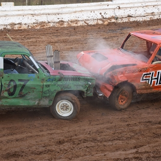 compact demo derby car tips