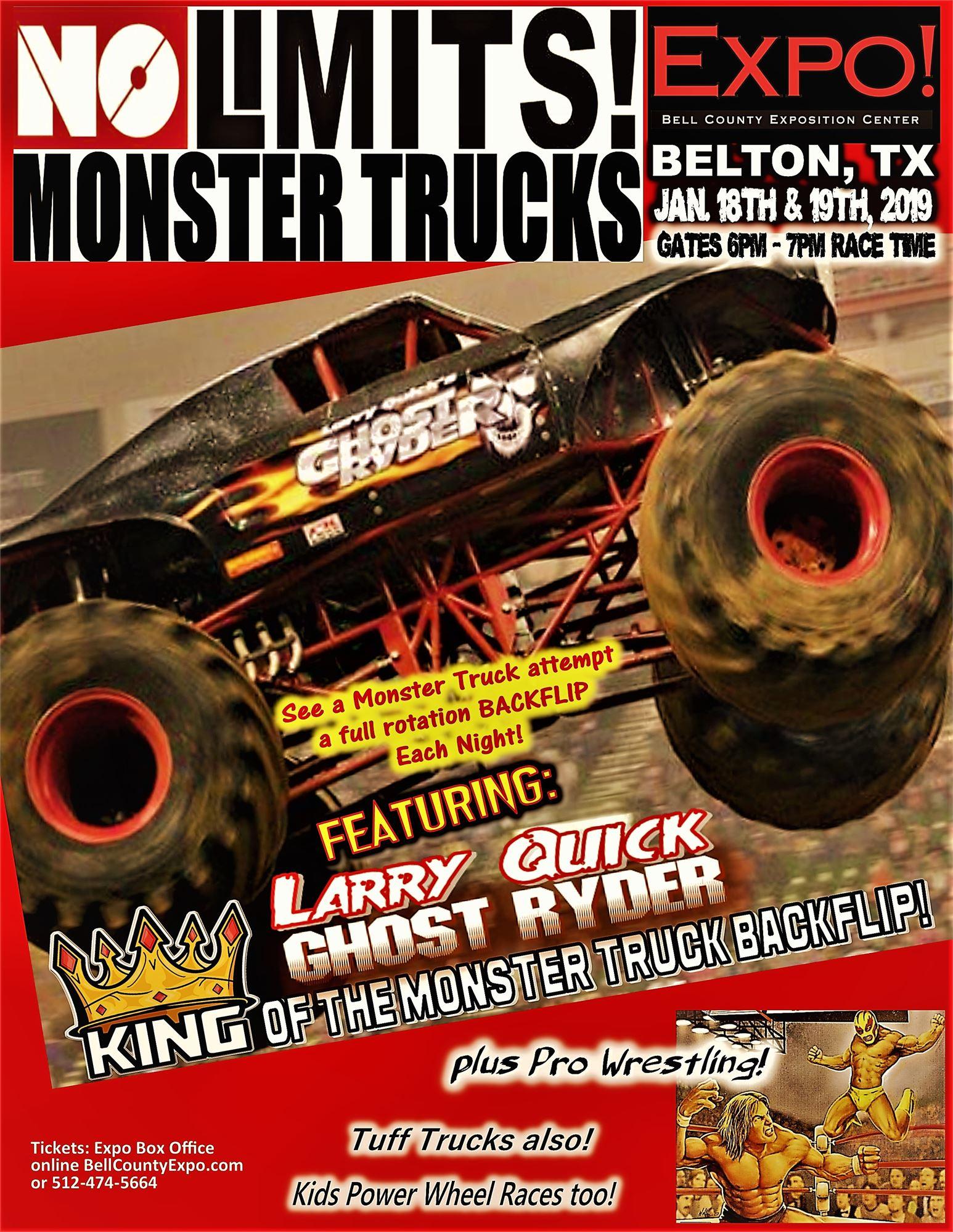 Monster Trucks - Travis county expo center car show