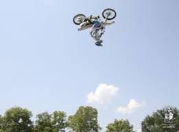 Dyson doing a back flip!