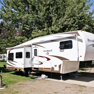 rv electrical hook up at home