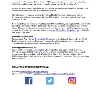 Mother Earth News - Feb 16-17 2019