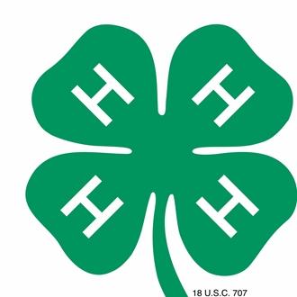 graphic 4-H Clover logo