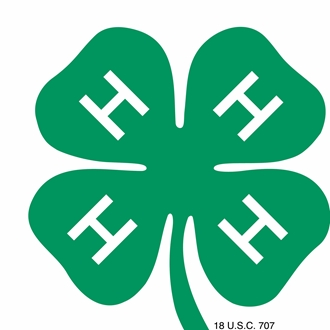 Graphic 4-H Clover