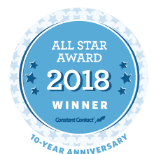 All-Star Marketing Award logo announcing our 2018 Award