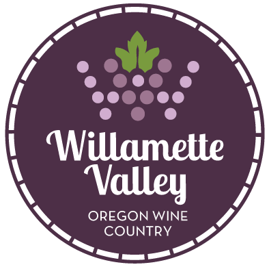 Willamette Valley Oregon Wine Country logo