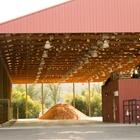 Empty Solar Livestock Building