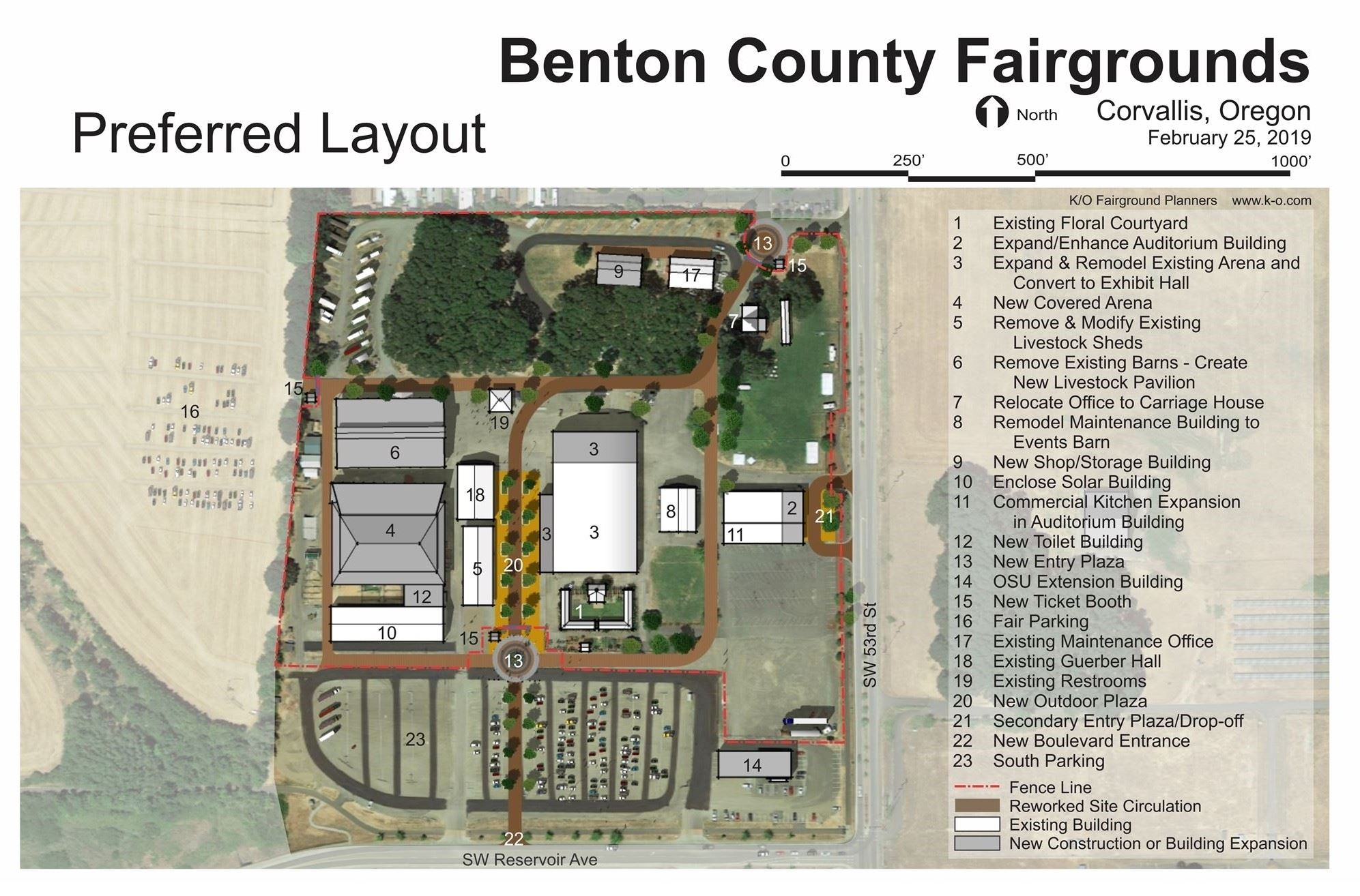 Benton County Fair Preferred Master Plan Layout