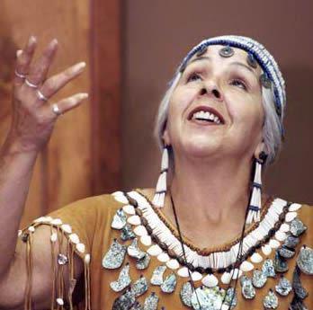 Turtle Island Storyteller Esther Stutzman