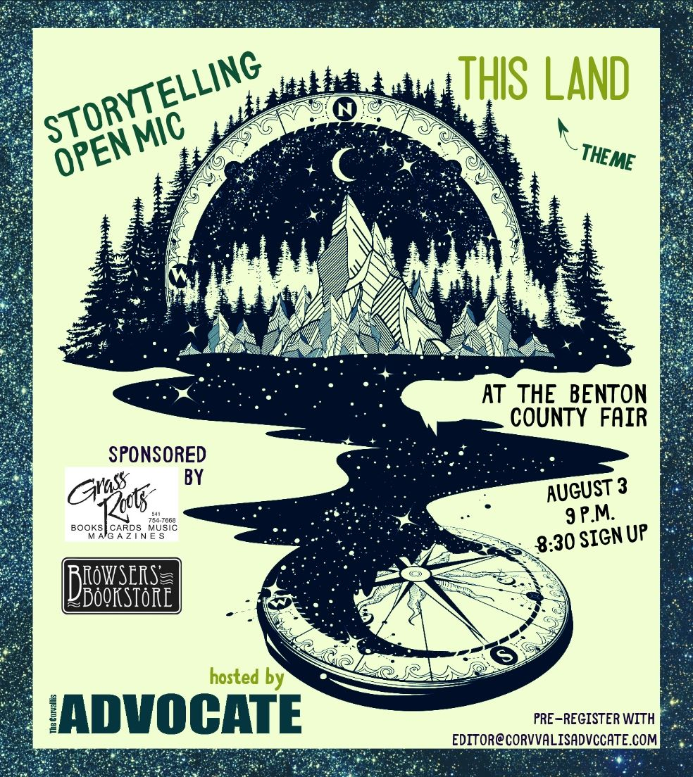 The Corvallis Advocate Story Telling Open Mic