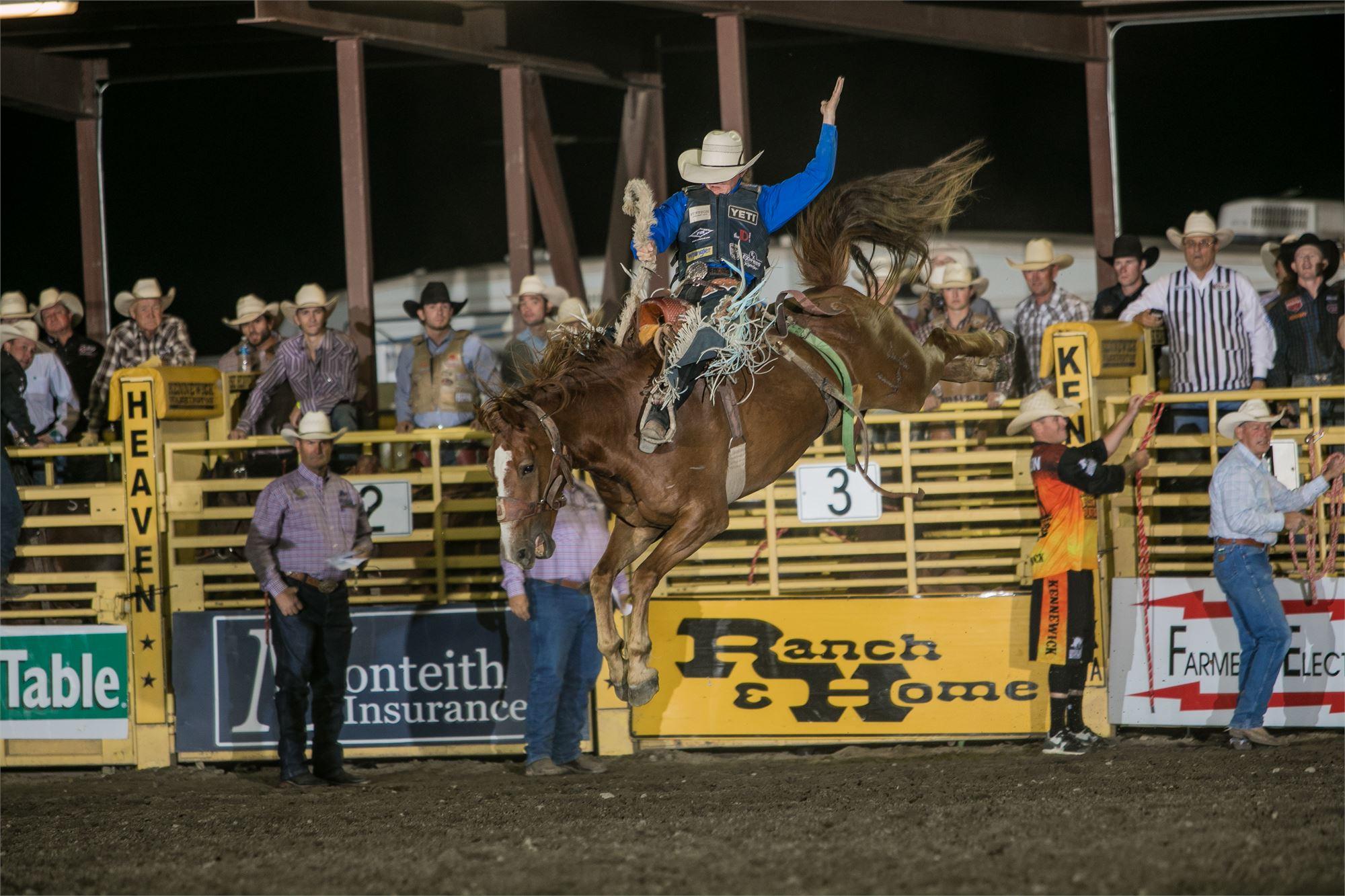 Horse Heaven Round Up Patriot Night