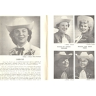 1953 Queen Sue Struck, Princess Catherine (Kerr) Harris, Princess June Edgar, Princess Kathy (Hanson) Kaye, Princess Pat Thomas