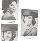 1960 Queen Eileen (Benitz) Wagner, Princess Connie Sue (Morbeck) Buckley, Princess Dale Leslie (Johnson) Gulley, Princess Mary Helen Abel