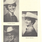 1961 Queen Joyce (Hayes) Burrus, Princess Lysbeth Fouts, Princess Roma (Walker) Walters, Princess Sharon Hartley