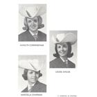 Queen Lee Ann Hamilton, Princess Louise Shulke, Princess Marcella (Chapman) Morrow, Princess Marilyn (Cunningham) Baker