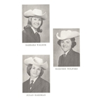 Queen Marcella (Chapman) Morrow, Princess Barbara Walker, Princess Marjorie (Wolford) Hart, Princess Susan (Hardman) Demarsh