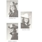 1967 Queen Nicki (Deal) Hiner, Princess Debbie (Garrett) Zunker, Princess Frances Thiel, Princess Sandra (Cox) Worsham