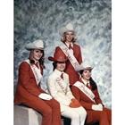 1969 Queen Debbie Kelly, Princess Barbara (Sharp) Davis, Princess Judy Moore, Princess Margaret (Surplus) Bumgarner