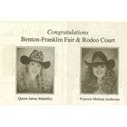 1995 Queen Jamie (Mahaffey) Sydnes, Princess Melissa Anderson